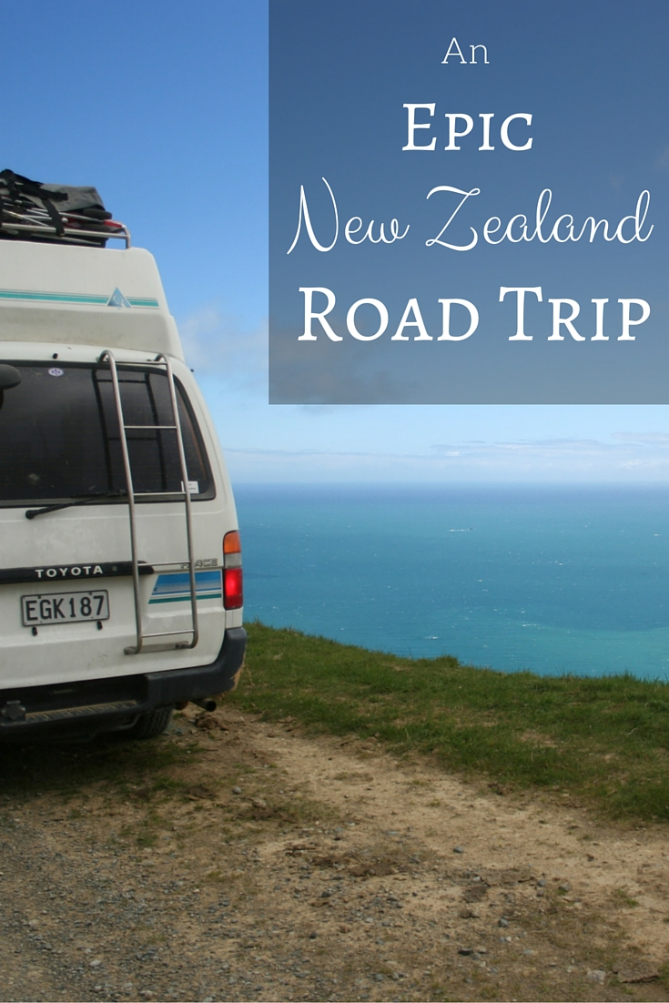 From Cape Reinga on the North Island to Curio Bay on the South Island, discover ten amazing New Zealand road trip destinations the whole family will enjoy. #travel #TBIN #New Zealand #roadtrip