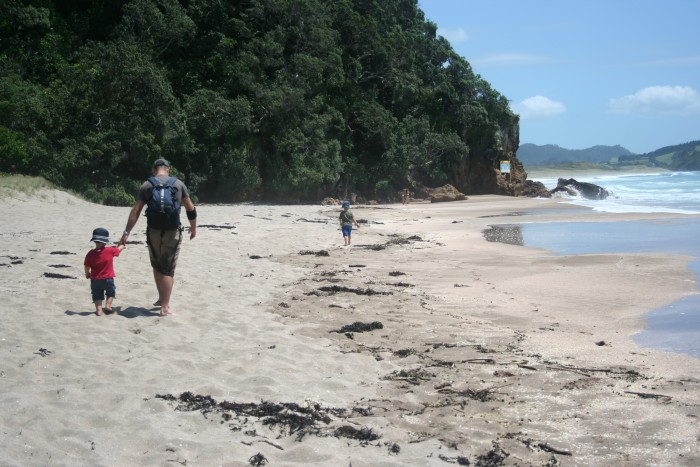 Hot Water Beach, Coromandel Peninsula, North Island