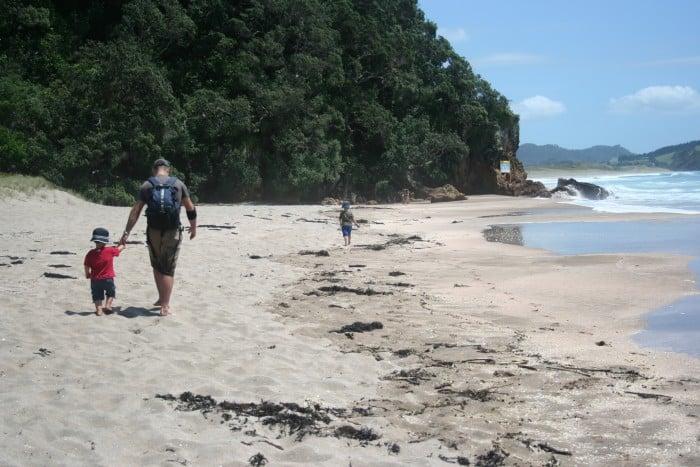 Hot Water Beach, Coromandel Peninsula, North Island