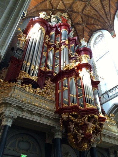 Christiaan Müller pipe organ in St. Bavo's Church Haarlem, Netherlands