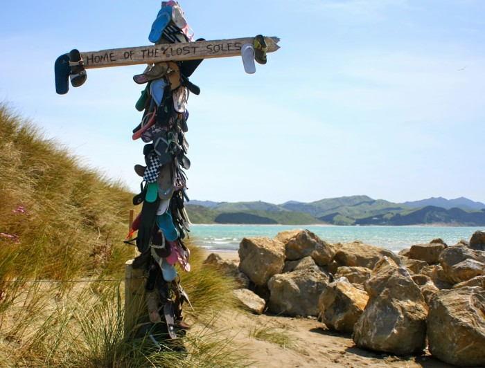Home of the Lost Soles, Castle Point, North Island