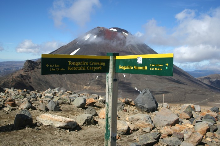 Tongariro Crossing, Taupo, North Island