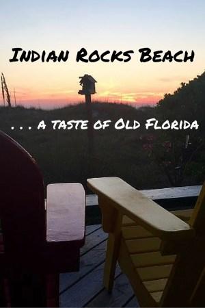 Adirondack Chairs on the Beach at Sunset