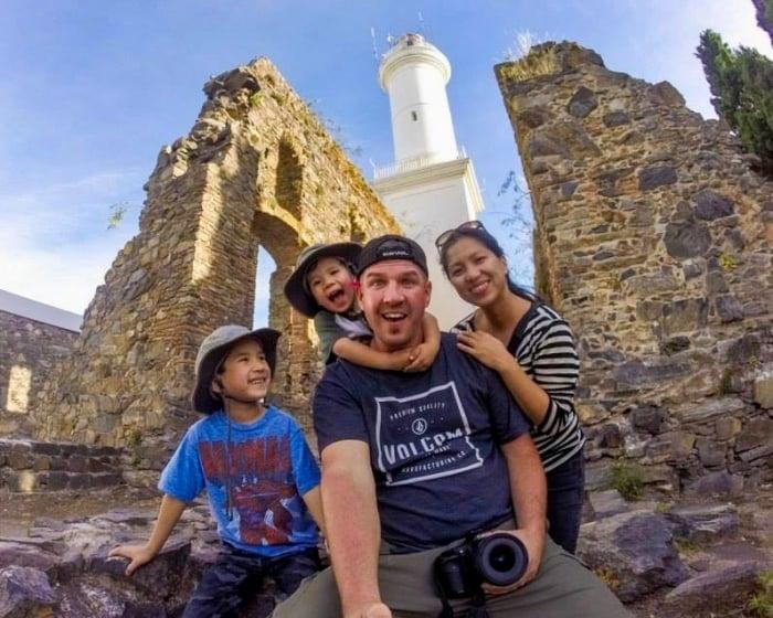 Kevin & family of Wandering Wagars