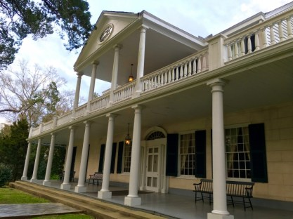 The Linden Bed and Breakfast Natchez Mississippi Front Porch