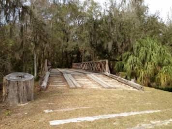 Fort Foster Seminole War Reenactment Florida Bridge