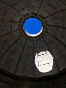 Vicksburg National Military Park Illinois Memorial Oculus
