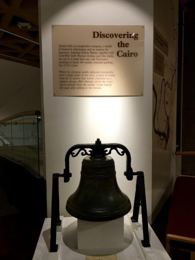 Vicksburg National Military Park U.S.S. Cairo Bell