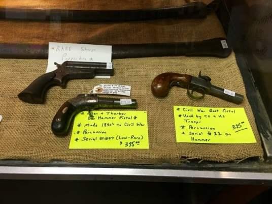 Old Court House Museum Vicksburg Mississippi Revolvers