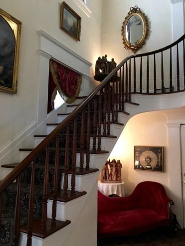 McRaven Tour Home Vicksburg Mississippi Stairway