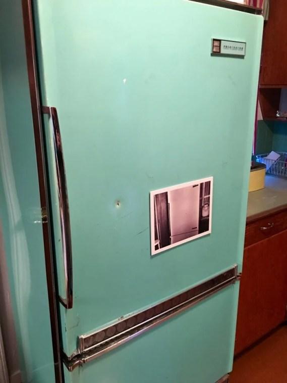 Medgar Evers Home Museum Jackson Mississippi Refrigerator