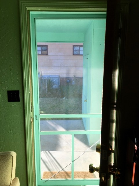 Medgar Evers Home Museum Jackson Mississippi Screen Door