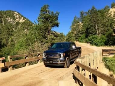 Eldorado Canyon State Park Colorado 2017 Ford Super Duty