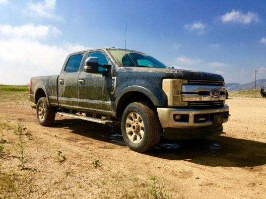2017 Ford Super Duty 4X$ Offroad Course Colorado