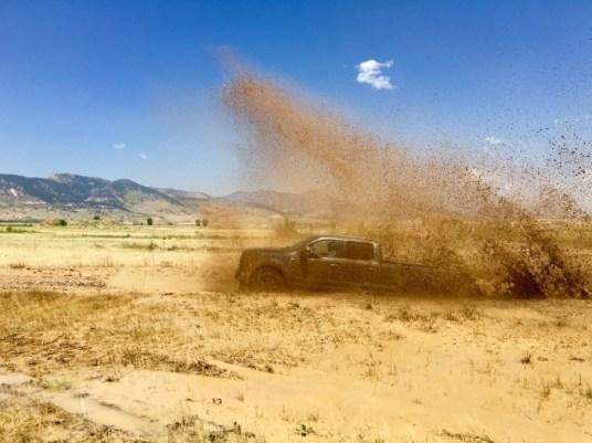 2017 Ford Super Duty 4X$ Offroad Course Colorado