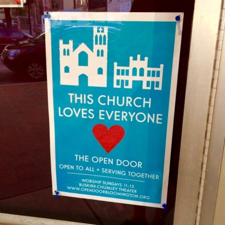 This Church Loves Everyone Indiana