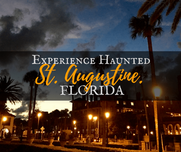 Experience Haunted St Augustine, Florida
