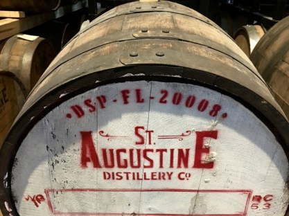 St Augustine Distillery Barrel