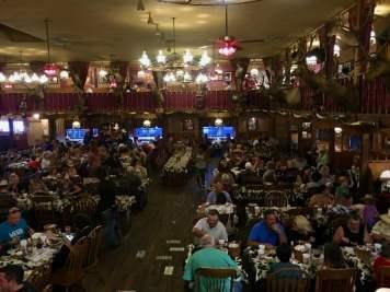 Big Texan Amarillo Texas Dining Room