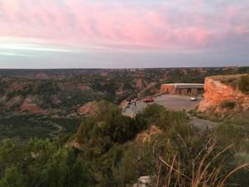 Palo Duro Canyon Texas Overlook