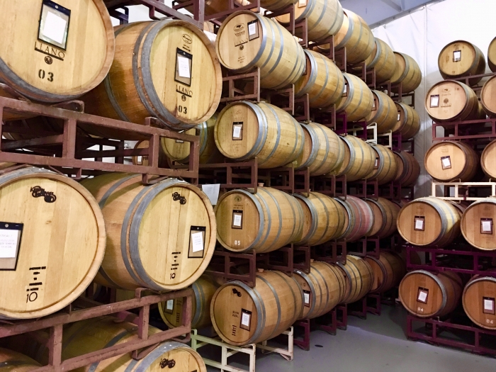 Llano Estacado Winery Barrels