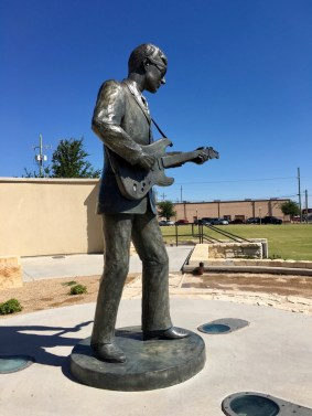 West Texas Walk of Fame Lubbock Texas Buddy Holly Statue