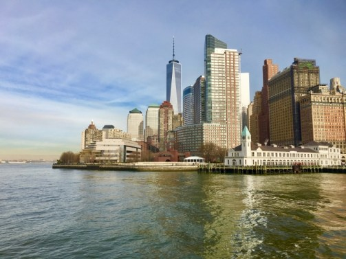 Manhattan Skyline New York Harbor