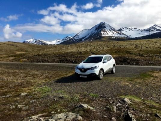Car Mountain Road Iceland