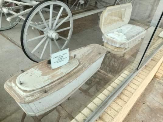Vintage Baby Coffins