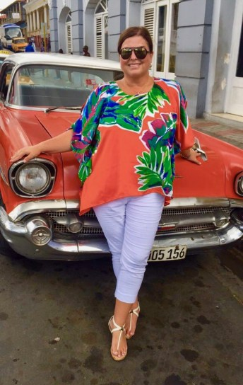 Melody Pittman Cuba Almendron Car Cuba
