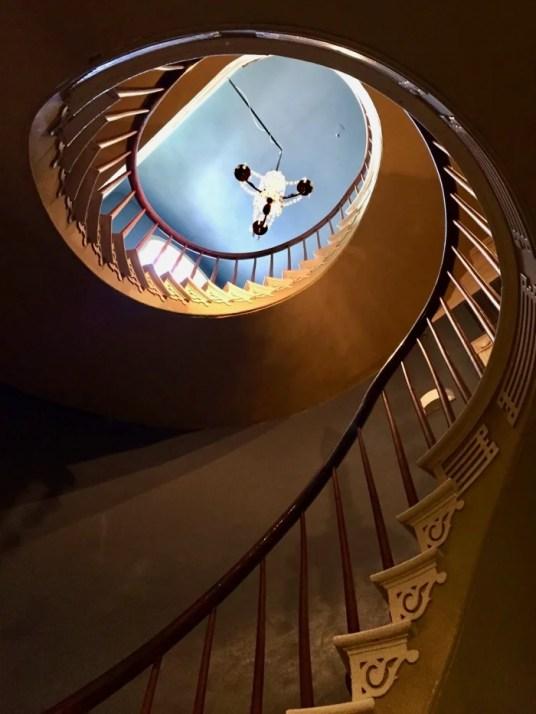 Houmas House stairway Louisiana