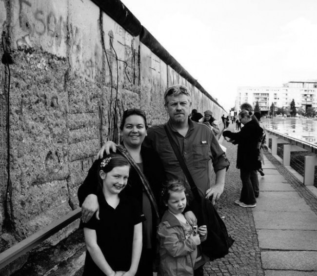 Mark and family from Wyld Family Travel