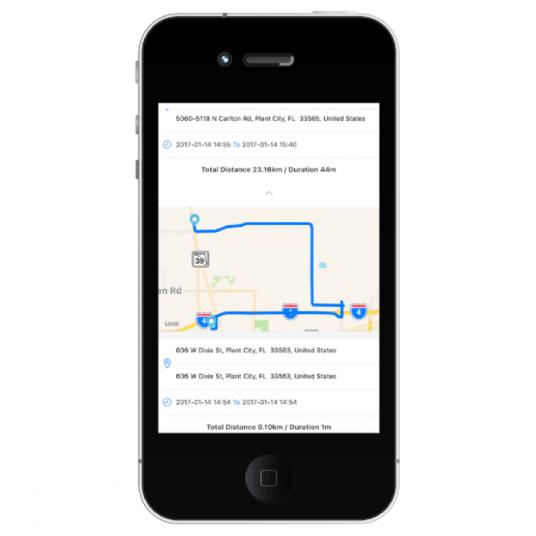 Florida Heritage Trails Guidebook on iPhone 3 - The VAVA Car Dash Cam: A Roadtripper's Best Friend