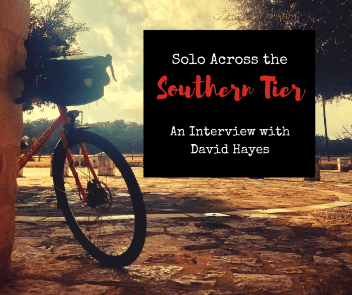 A Solo Bike Ride Across the Southern Tier