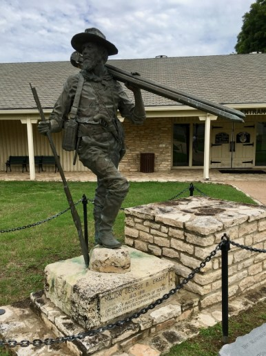 Major George B. Erath statue