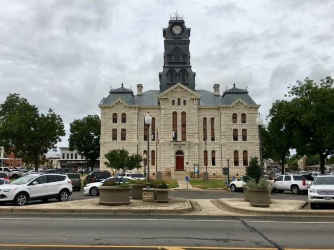 Hood County Courthouse Granbury, Texas