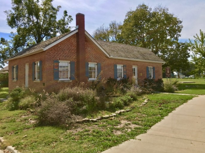 Seth Hays home Council Grove, Kansas