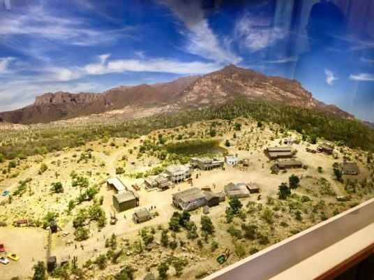 Superstition Mountain Museum model