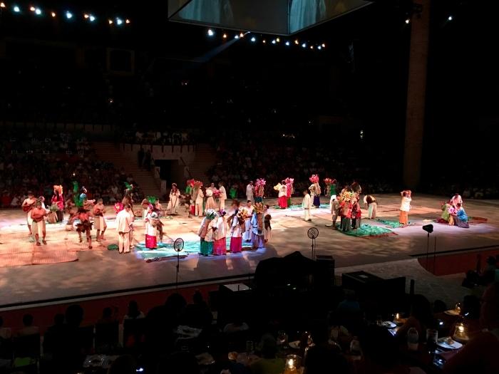 Xcaret México Espetácular dinner theater show