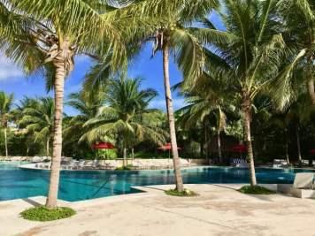 pool at Hacienda Tres Ríos