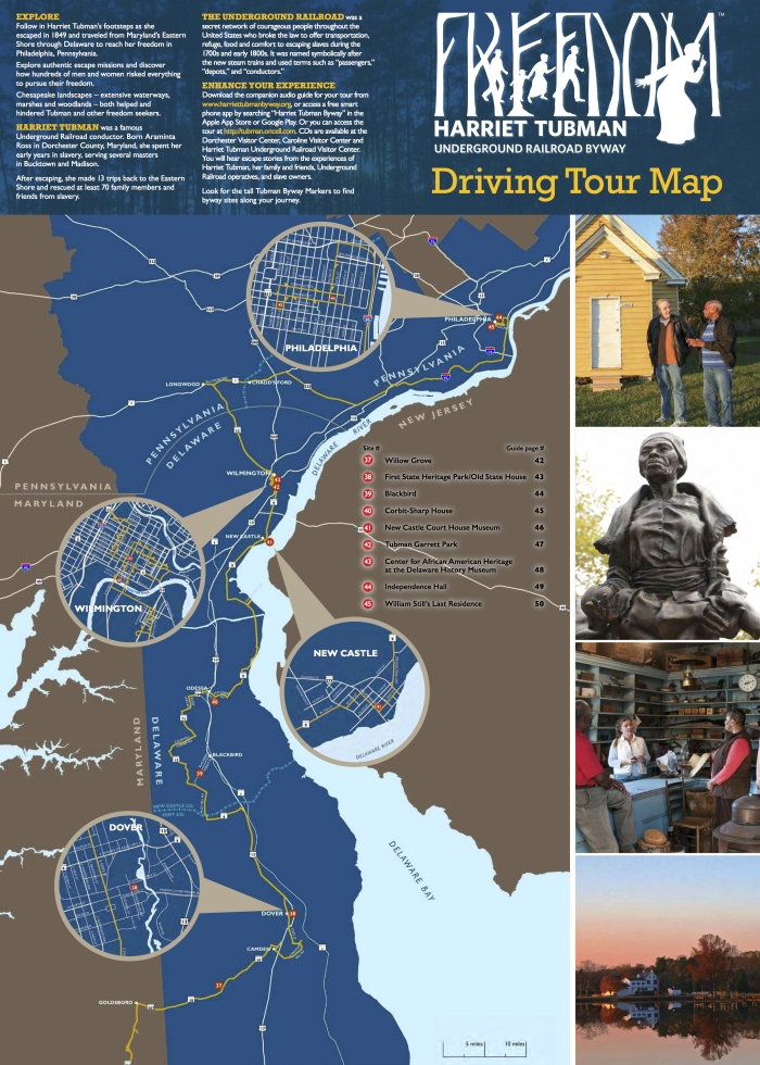 Drive the Maryland Harriet Tubman Underground Railroad