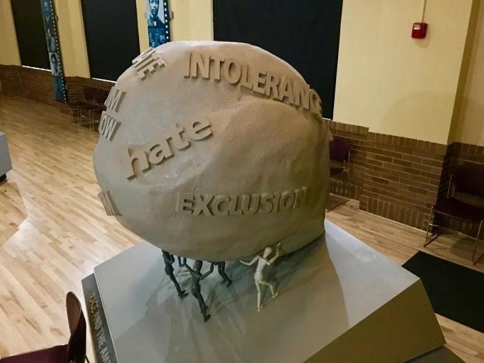 Brown Board Education NPS Site Topeka art