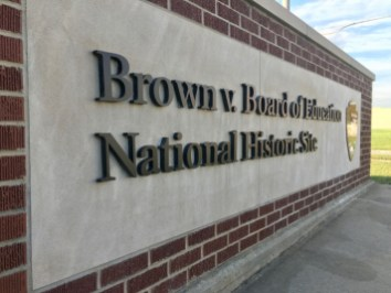 Brown Board Education NPS Site Topeka marker - Explore Civil Rights History in Topeka, Kansas: 5+1 Key Sites