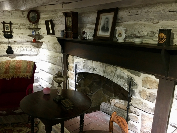 John Brown Museum Kansas fireplace - Explore Civil Rights History in Topeka, Kansas: 5+1 Key Sites