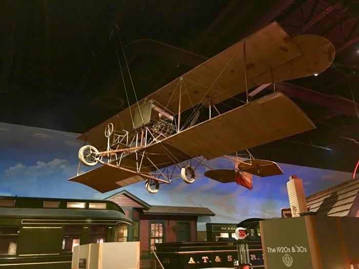 Kansas Museum of History airplane