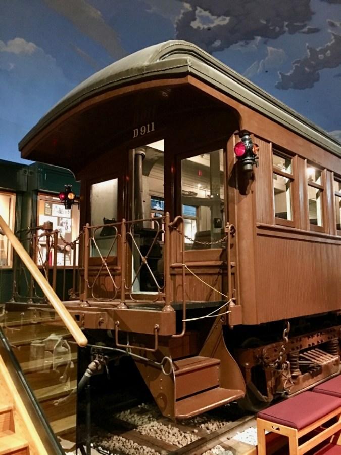 Kansas Museum of History caboose