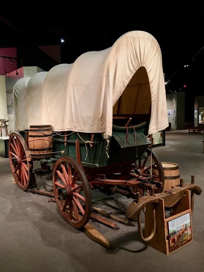 Kansas Museum of History covered wagon