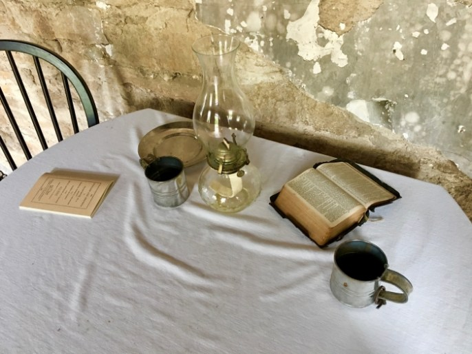 Ritchie House Topeka Bible table - Explore Civil Rights History in Topeka, Kansas: 5+1 Key Sites
