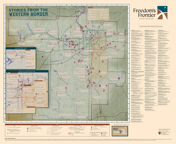 freedomfrontier map panel new 21 - Explore Civil Rights History in Topeka, Kansas: 5+1 Key Sites
