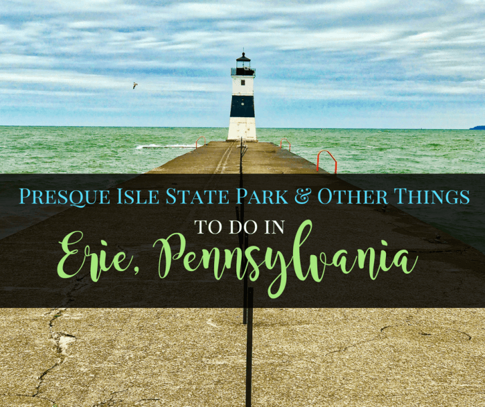 Presque Isle State Park & Other Things to Do in Erie, Pennsylvania